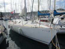 Bénéteau First 41 S5 : In the marina