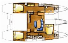 Lagoon 420: Boat layout