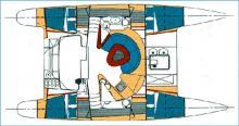Athena 38 : Boat layout