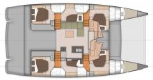 Sanya 57 : Boat layout