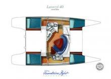 Lavezzi 40: Boat layout