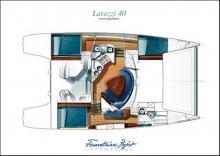 Lavezzi 40 Maestro: Boat layout
