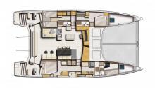 Catana 59 : Boat layout