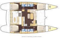 Lagoon 440: Boat layout