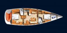 Hanse 531: Boat layout