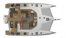 NEEL 47 : Deck and cockpit layout