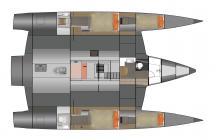 NEEL 47 : Cabin layout