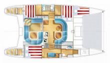 Nautitech 40.2 : Boat layout