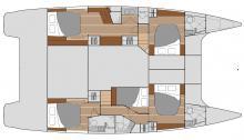 Saba 50 Maestro : Cabin layout