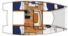Leopard 39 : Boat layout