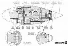 First 456 : Boat layout