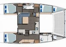 Robertson & Caine Leopard 40: Boat layout