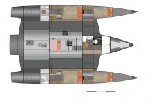 Neel 47 : Cabins layout