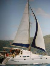 Navigating in The Caribbean - Fountaine Pajot Venezia 42, Used (1999) - Martinique (Ref 305)