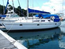 In the marina, Guadeloupe - Jeanneau Sun Dance 36, Used (1989) - Guadeloupe (Ref 328)