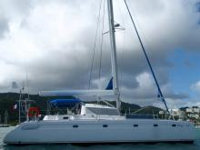 Fountaine Pajot Venezia 42: at anchor in Martinique