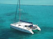 At anchor in The Caribbean - Nautitech Nautitech 44, Used (2008) - Caribbean (Ref 440)