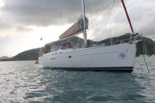 At anchor - Beneteau Oceanis 523, Used (2005) - Martinique (Ref 464)