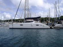 In the marina, Martinique - Fountaine Pajot Lavezzi 40, Used (2007) - Martinique (Ref 476)