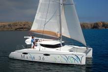En navigation - Fountaine Pajot Mahé 36 Evolution, New - France (Ref 10)