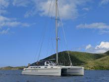 Edel cat 42 : In Martinique