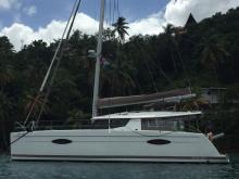 Fountaine Pajot Hélia 44 Maestro : At anchor in the Caribbean