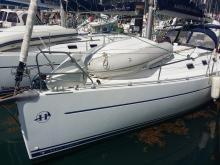 Harmony 38: In the marina