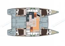 Hélia 44: Boat layout
