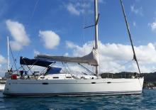 Hanse 461: At anchor in Martinique