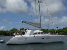 Lagoon 380 S2: Martinique anchorage