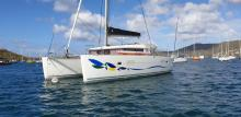 Lagoon 400 : At anchor in Martinique