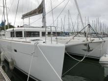 Lagoon 450: In the marina