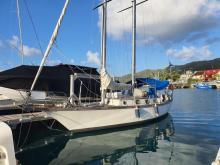 Staempfli Marjolaine 35 : At pontoon in Martinique