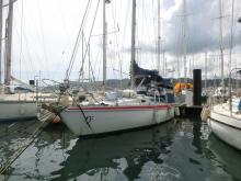 Jeanneau Melody : In the marina