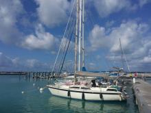 Moody 34: In the marina
