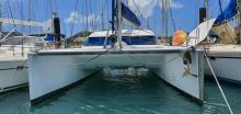 Nautitech 40: In the marina