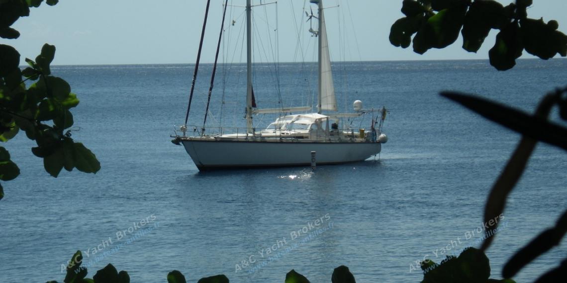 Super Maramu : At anchor in the Caribbean