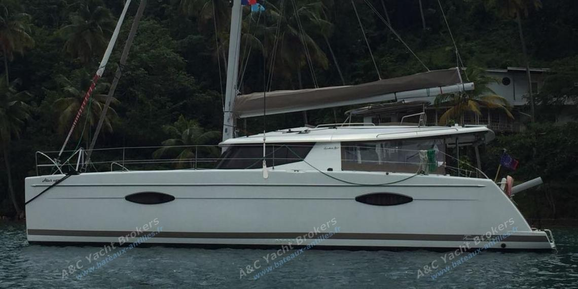 Fountaine Pajot Hélia 44 Maestro : At anchor in the Caribbean