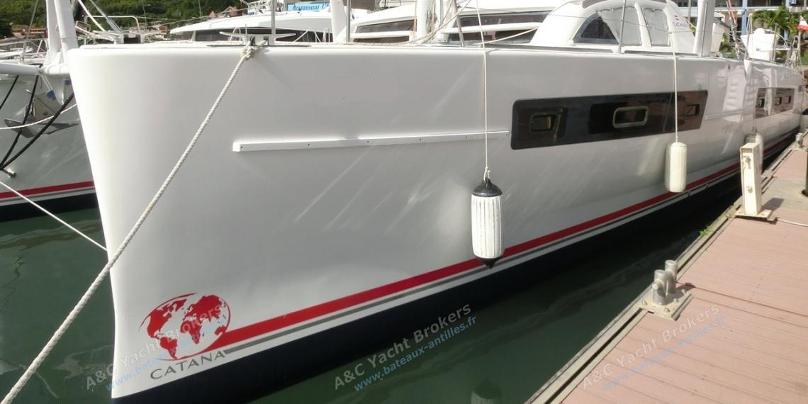 Catana 47: In the marina