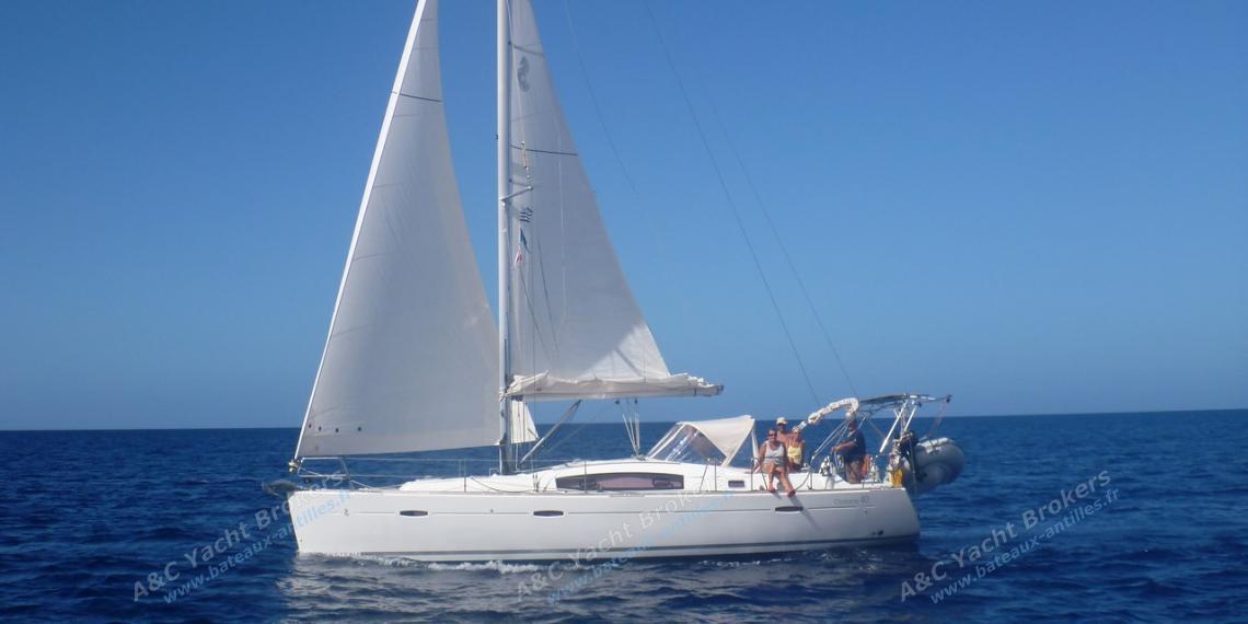 Bénéteau Oceanis 40 : Navigating in the Caribbean