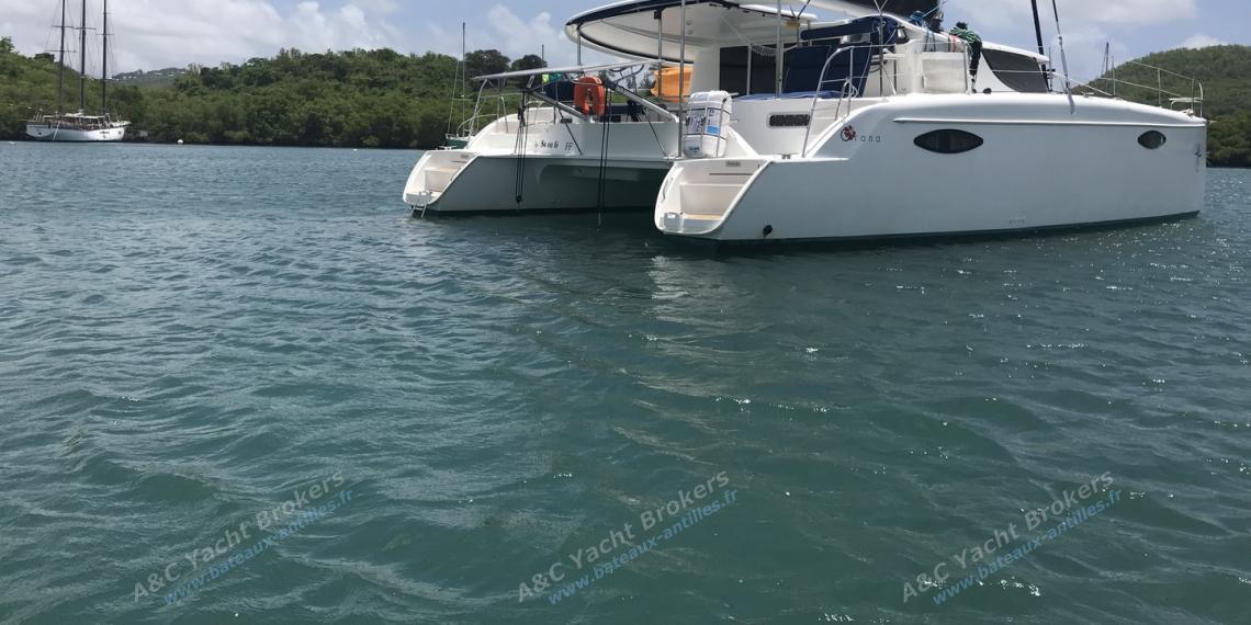 Orana 44: At anchor in Martinique