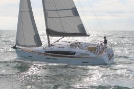 Sun Odyssey 41 DS en navigation