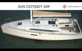 Sun Odyssey 349 3D - by Jeanneau