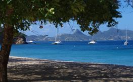 Caribbean anchorage