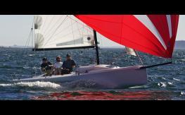 J-Boats - J-Composites J 70 sailing regatta under asymmetric spinnaker