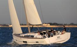 Dufour Yachts Dufour 500 Grand Large navigating