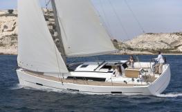 Dufour 410 Navigating