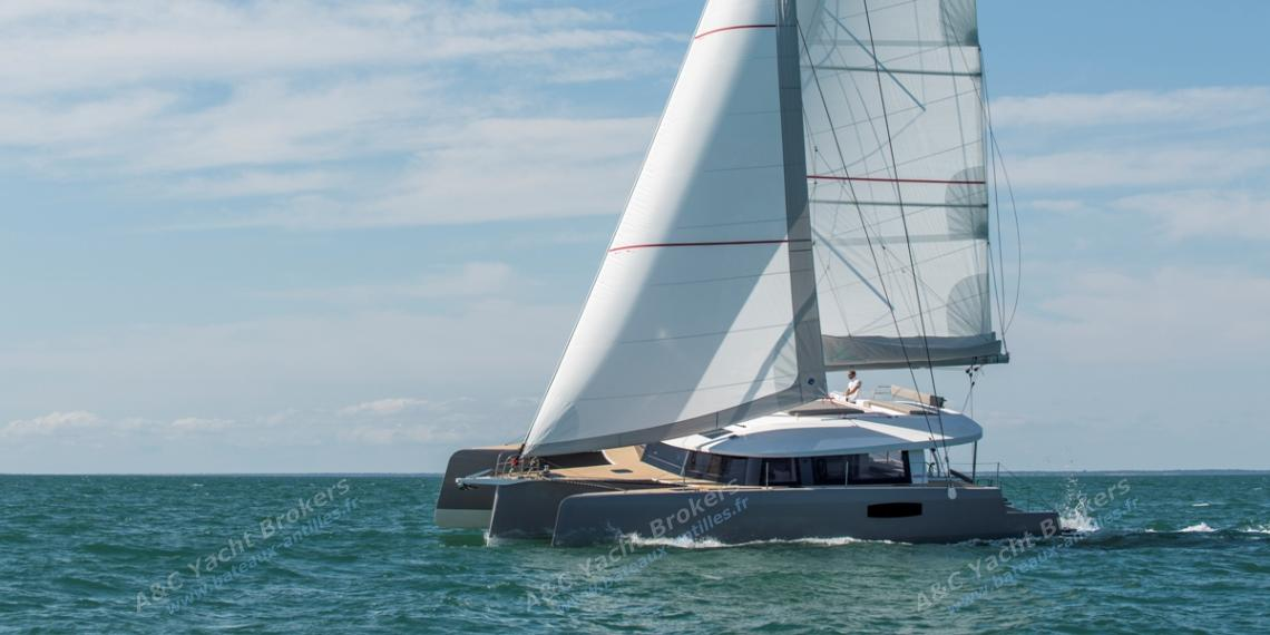 NEEL-TRIMARANS NEEL 51: Navigating on the wind