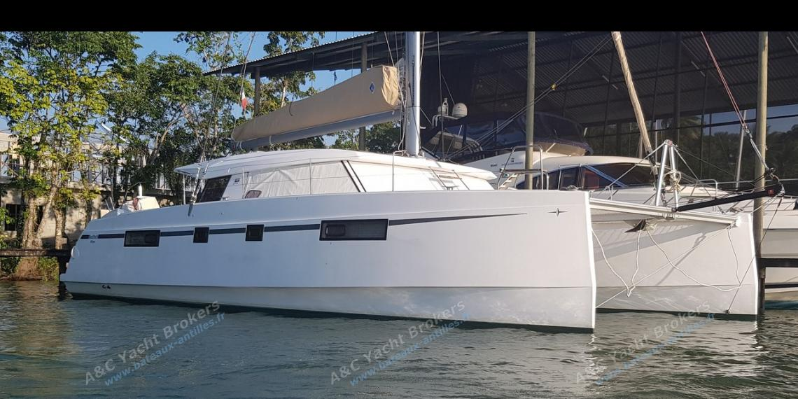 Bavaria Catamarans Nautitech 46 Open : In the marina